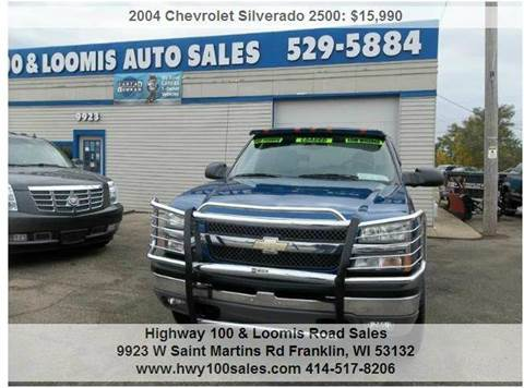 2004 Chevrolet Silverado 2500 for sale at Highway 100 & Loomis Road Sales in Franklin WI