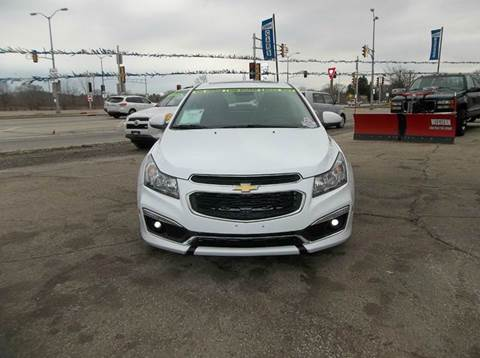 2015 Chevrolet Cruze for sale at Highway 100 & Loomis Road Sales in Franklin WI