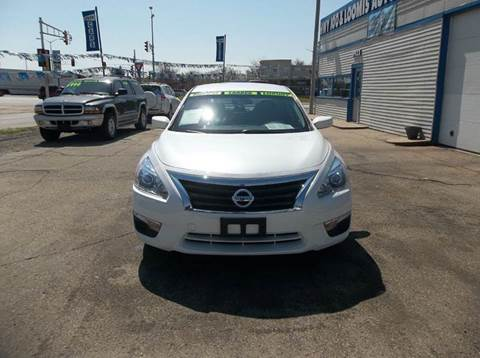 2014 Nissan Altima for sale at Highway 100 & Loomis Road Sales in Franklin WI