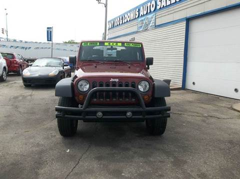 2008 Jeep Wrangler for sale at Highway 100 & Loomis Road Sales in Franklin WI