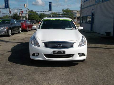 2013 Infiniti G37 Sedan for sale at Highway 100 & Loomis Road Sales in Franklin WI