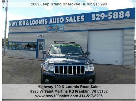 2009 Jeep Grand Cherokee for sale at Highway 100 & Loomis Road Sales in Franklin WI