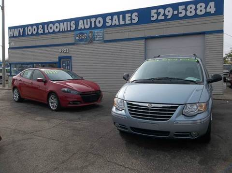 2005 Chrysler Town and Country for sale at Highway 100 & Loomis Road Sales in Franklin WI