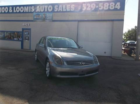 2005 Infiniti G35 for sale at Highway 100 & Loomis Road Sales in Franklin WI
