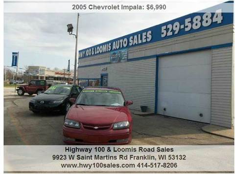2005 Chevrolet Impala for sale at Highway 100 & Loomis Road Sales in Franklin WI