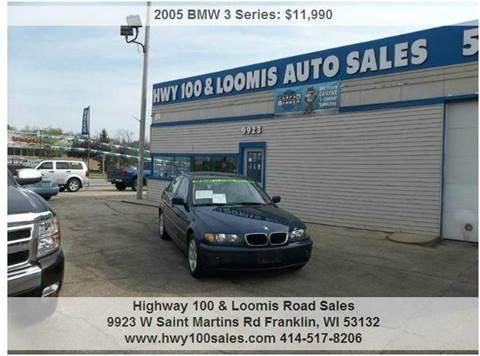 2005 BMW 3 Series for sale at Highway 100 & Loomis Road Sales in Franklin WI