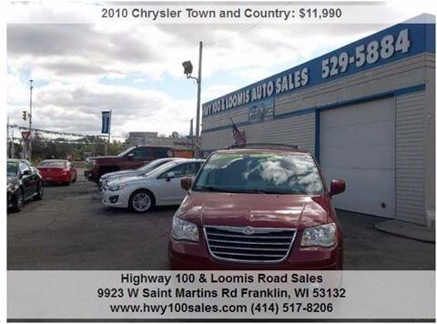 2010 Chrysler Town and Country for sale in Franklin, WI
