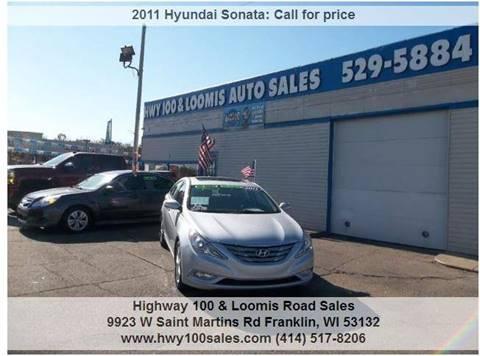 2011 Hyundai Sonata for sale at Highway 100 & Loomis Road Sales in Franklin WI