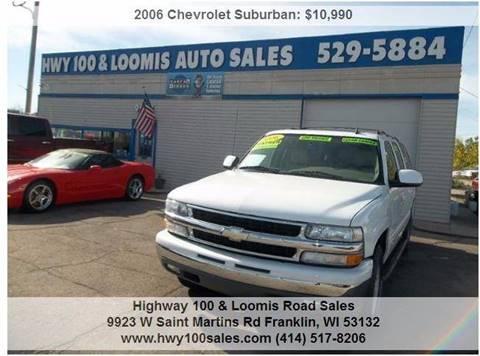 2006 Chevrolet Suburban for sale in Franklin, WI
