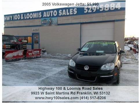 2005 Volkswagen Jetta for sale at Highway 100 & Loomis Road Sales in Franklin WI