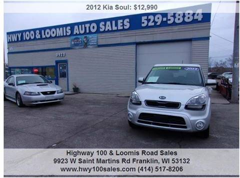 2012 Kia Soul for sale at Highway 100 & Loomis Road Sales in Franklin WI