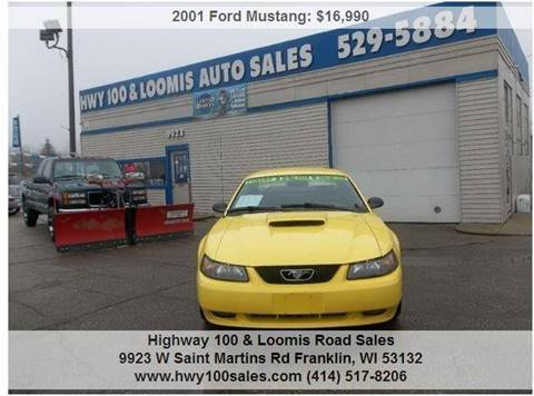 2001 Ford Mustang for sale at Highway 100 & Loomis Road Sales in Franklin WI
