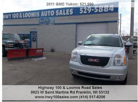 2011 GMC Yukon for sale at Highway 100 & Loomis Road Sales in Franklin WI