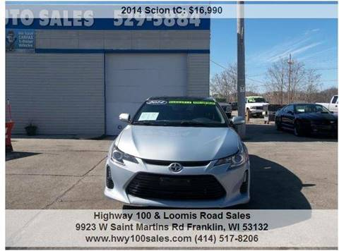 2014 Scion tC for sale at Highway 100 & Loomis Road Sales in Franklin WI