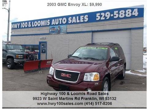 2003 GMC Envoy XL for sale at Highway 100 & Loomis Road Sales in Franklin WI