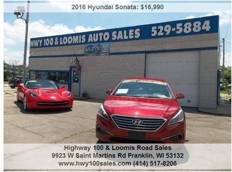 2016 Hyundai Sonata for sale in Franklin, WI