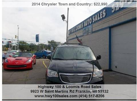 2014 Chrysler Town and Country for sale at Highway 100 & Loomis Road Sales in Franklin WI