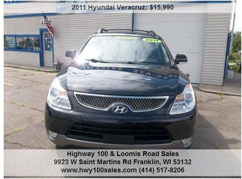 2011 Hyundai Veracruz for sale at Highway 100 & Loomis Road Sales in Franklin WI