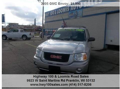 2005 GMC Envoy for sale at Highway 100 & Loomis Road Sales in Franklin WI