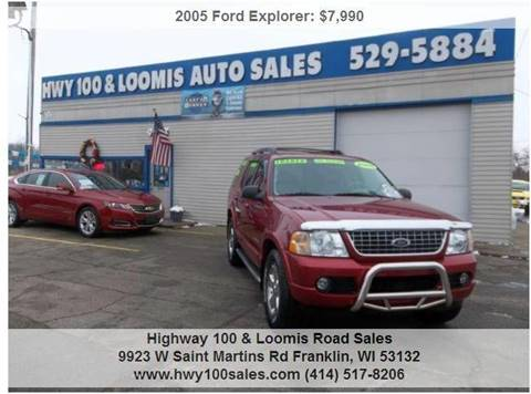2005 Ford Explorer for sale at Highway 100 & Loomis Road Sales in Franklin WI