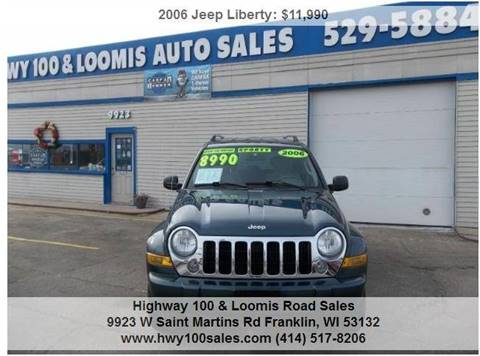 2006 Jeep Liberty for sale at Highway 100 & Loomis Road Sales in Franklin WI