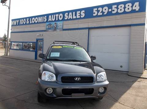2004 Hyundai Santa Fe for sale at Highway 100 & Loomis Road Sales in Franklin WI