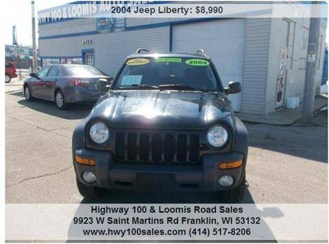 2004 Jeep Liberty for sale at Highway 100 & Loomis Road Sales in Franklin WI
