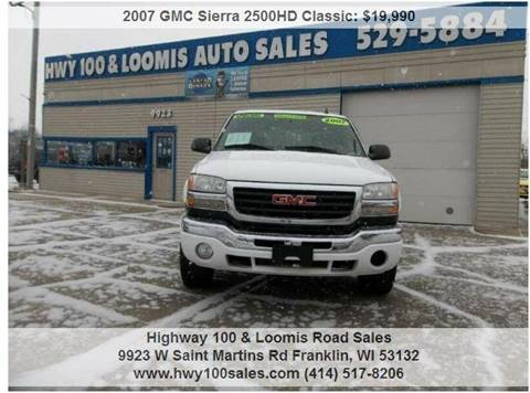 2007 GMC Sierra 2500HD Classic for sale in Franklin, WI