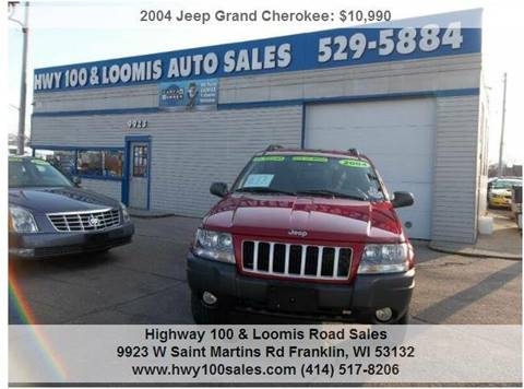 2004 Jeep Grand Cherokee for sale at Highway 100 & Loomis Road Sales in Franklin WI
