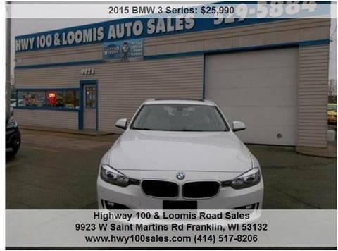 2015 BMW 3 Series for sale at Highway 100 & Loomis Road Sales in Franklin WI