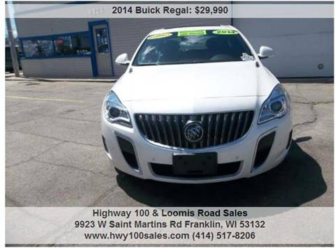 2014 Buick Regal for sale in Franklin, WI
