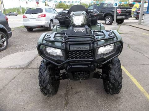 2015 Honda FOURTRAX  FOREMAN for sale at Highway 100 & Loomis Road Sales in Franklin WI