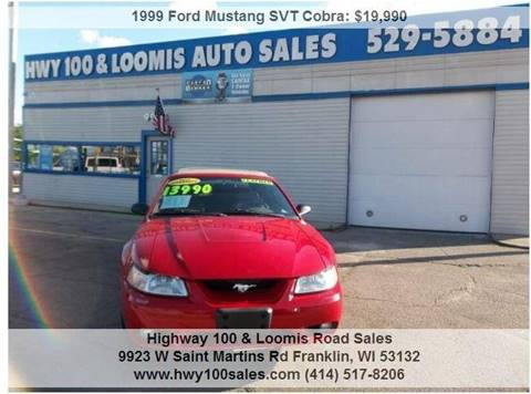 1999 Ford Mustang SVT Cobra for sale in Franklin, WI