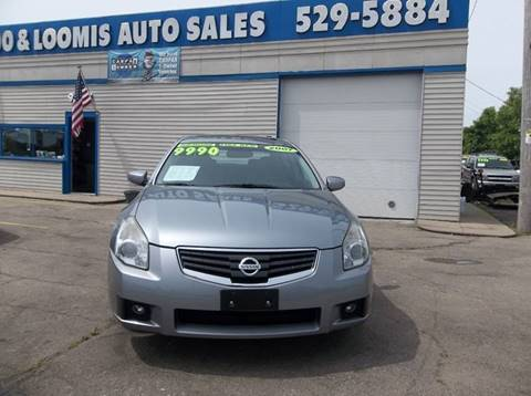 2007 Nissan Maxima for sale at Highway 100 & Loomis Road Sales in Franklin WI