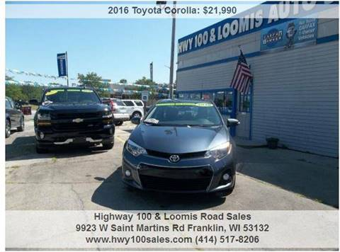 2016 Toyota Corolla for sale in Franklin, WI