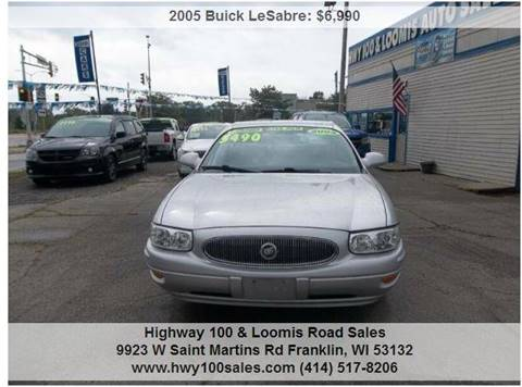 2005 Buick LeSabre for sale at Highway 100 & Loomis Road Sales in Franklin WI