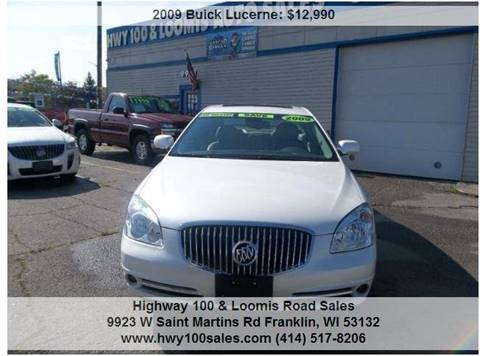 2009 Buick Lucerne for sale at Highway 100 & Loomis Road Sales in Franklin WI