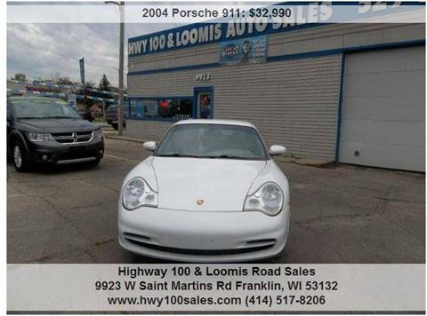 2004 Porsche 911 for sale at Highway 100 & Loomis Road Sales in Franklin WI