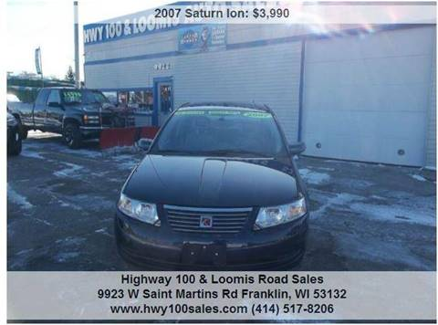 2007 Saturn Ion for sale in Franklin, WI