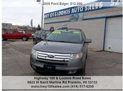 2009 Ford Edge for sale at Highway 100 & Loomis Road Sales in Franklin WI