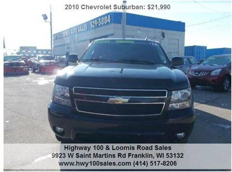 2010 Chevrolet Suburban for sale at Highway 100 & Loomis Road Sales in Franklin WI