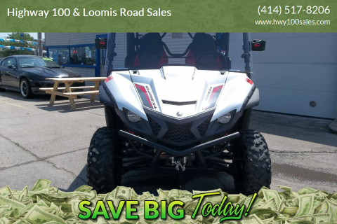 2018 Yamaha YX850 for sale at Highway 100 & Loomis Road Sales in Franklin WI