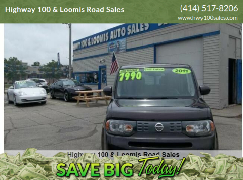2011 Nissan cube for sale at Highway 100 & Loomis Road Sales in Franklin WI