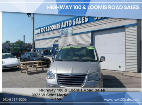 2008 Chrysler Town and Country for sale at Highway 100 & Loomis Road Sales in Franklin WI