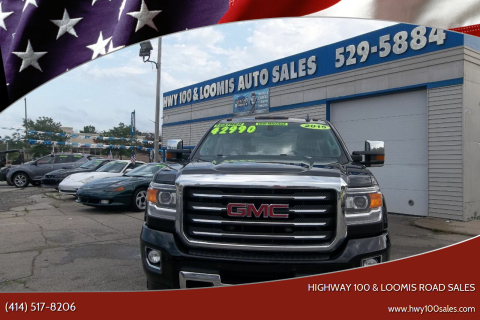 2015 GMC Sierra 2500HD for sale at Highway 100 & Loomis Road Sales in Franklin WI