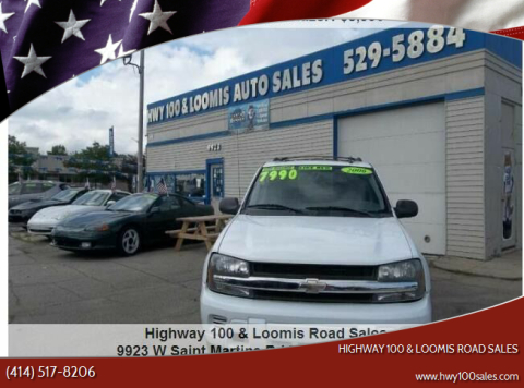 2006 Chevrolet TrailBlazer for sale at Highway 100 & Loomis Road Sales in Franklin WI