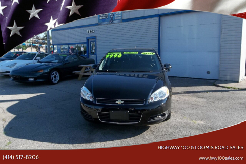 2011 Chevrolet Impala for sale at Highway 100 & Loomis Road Sales in Franklin WI