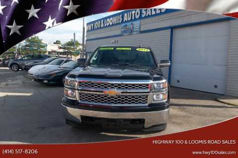 2015 Chevrolet Silverado 1500 for sale at Highway 100 & Loomis Road Sales in Franklin WI