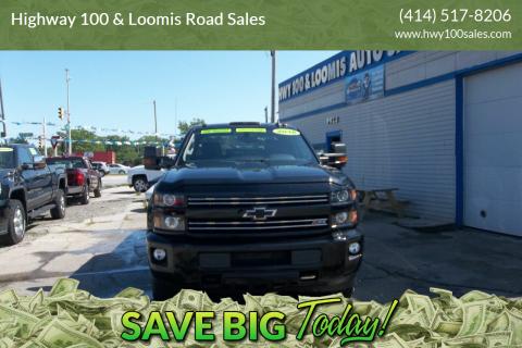 2016 Chevrolet Silverado 2500HD for sale at Highway 100 & Loomis Road Sales in Franklin WI