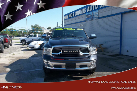 2017 RAM Ram Pickup 1500 for sale at Highway 100 & Loomis Road Sales in Franklin WI